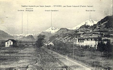 La Casa redentorista di Uvrier in Svizzera era in una posizione privilegiata per il riposo, lo studio e il contatto con la natura. P. Pierre Gave si diede alla ricerca delle erbe, suscitando l'ammirazione dei botanici del tempo.
