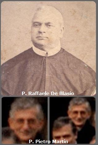 Tra i 28 defunti di oggi 17 dicembre, di cui 3 italiani, l'immagine mostra 2 Redentoristi: gli italiani P. Raffaele De Blasio (1811-1895) e P. Pietro Martin (1938-2001).