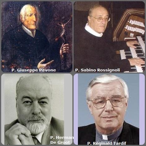 Tra i 27 defunti di oggi 21 dicembre, di cui 3 italiani, l'immagine mostra 4 Redentoristi: gli italiani P. Giuseppe Pavone (1736-1810) e P. Sabino Rossignoli (1923-2008); l'olandese P. Herman De Groot (1925-2004) e il canadese P. Réginald Tardif (1929-2012).