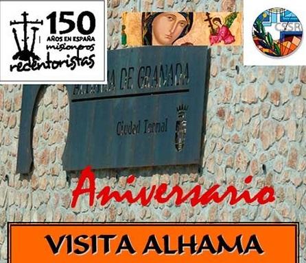 Nel 2013 i Redentoristi spagnoli hanno festeggiato il 150° anniversario della presenza redentorista un Spagna, anche ad Alhama, patri del P. Jean Marie Negro.