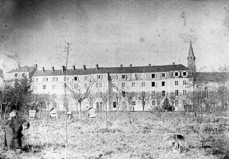 La Casa redentorista di Gannat in Francia nel 1896. Qui nel 1890 era morto il P. Carlo Druelle.