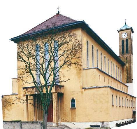 Hagenau, Francia - La chiesa di San Gerardo. Nella casa redentorista, ora chiusa, morì nel 1917 il P. Nicolas Dihling.