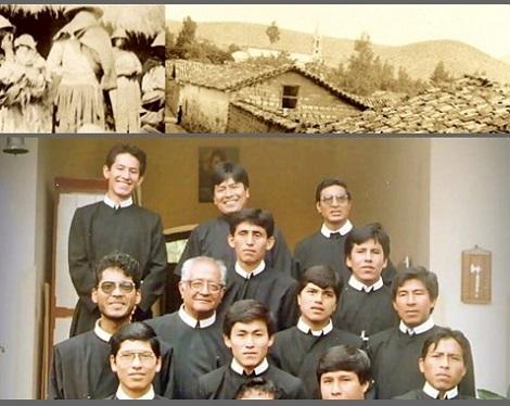 Huanta, Perù. La povertà degli inizi difficili di ieri, al tempo del P. Albert Housse e il fiorire delle vocazioni oggi.
