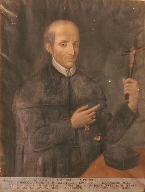 Mons. Desiderio Mennone, redentorista nativo di Mirabello di Boiano in provincia di Campobasso, fu vescovo di Lacedonia per appena un anno, ma dimostrò uno zelo instancabile, che tutti, sacerdoti e popolo, seppero apprezzare.
