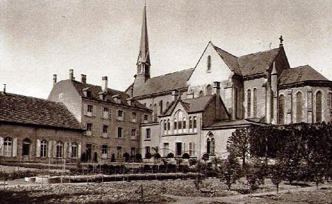 La  casa redentorista di Mulhouse nel 1909. Qui terminò la sua laboriosa vita nel 1902 Fr. Alphonse  Antoine  Lehmann.