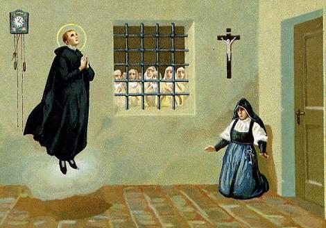 Di questa estasi di San Gerardo avvenuta nel monastero delle Teresiane di Ripacandida (PZ) il P. Flaminio Martuscelli testimoniò ai Processi di beatificazione (1845), avendolo saputo da una delle suore presenti.