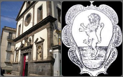 San Paolo Belsito, vicino Nola (NA) era il paese natale del papà di S. Alfonso, Don Giuseppe de Liguori, e fu anche patria di P. Giuseppe Perretta. Nella foto: la chiesa parrocchiale e il leone rampante, simbolo del Comune, appartente all'araldica della famiglia de Liguori.