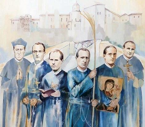 Di Cuenca, Spagna, dove nel 1897 morì il Fratello Conrad Leodegarde Koeble, sono i Beati Martiri Redentoristi P. José Javier Gorosterratzu Jaunarena (1877-1936) - P. Ciriaco Olarte y Pérez de Mendiguren (1893-1936) - P. Miguel Goñi Ariz (1902-1936) - P. Julián Pozo y Ruiz de Samaniego (1920-1936) - P. Pedro Romero Espejo (1871-1938) - Fr. Víctor (Victoriano) Calvo Lozano (1896-1936).