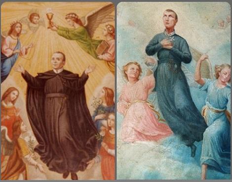 Clemente Hofbauer e Gerardo Maiella proclamati Beati nello stesso giorno (29 gennaio) e dallo stesso Papa, ma in anni differenti.