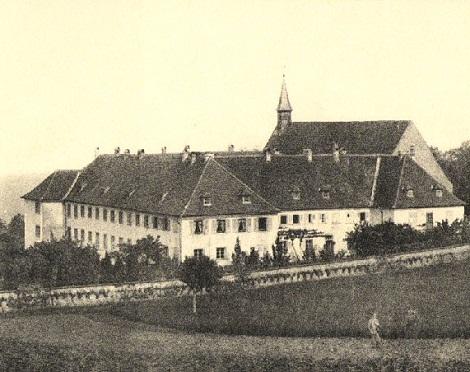 La gloriosa Casa redentorista di Bischenberg, in Alsazia, dove nel 1865 morì il Fratello François Scherer.