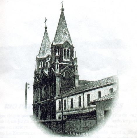 CauquenesSalfonso.jpg - nella Comunità di Cauquenes, con la bella chiesa di S. Alfonso,  ne l 1921 finì la sua laboriosa vita il P. Alexandre David.