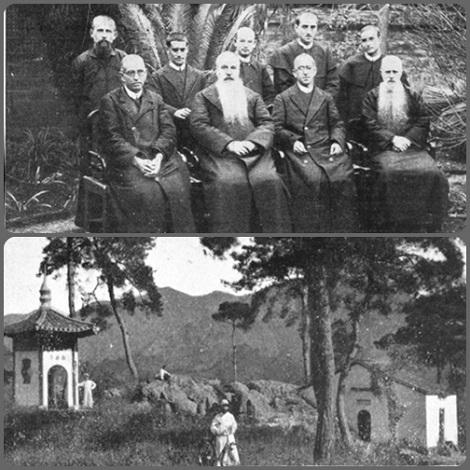 Cina - Comunità redentorista del passato e scena di missione.