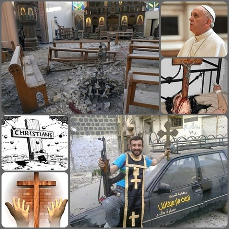 Nonostante i ripetuti appelli di Papa Francesco e le varie iniziative di fratellanza internazionale, come giornante per la pace, per migranti e rifugiati, per l'ecumenismo, per il dialogo delle religioni…  in molte parti del mondo (Siria, India, Malesia…) i cristiani continuano ad essere oggetto di persecuzione, di violenza e di uccisioni… Fino a quando?