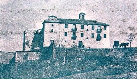 Deliceto (FG). Antica foto della Casa Redentorista, detta La Consolazione. Qui morì nel 1835 il P. Luigi Sanitate.