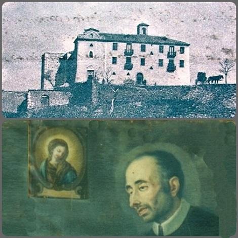 La Casa di Deliceto (FG) in una antica foto e il P. Pietro Petrella che vi era Rettore il 5 gennaio 1752, quando S. Alfonso inviò questa ferma lettera.