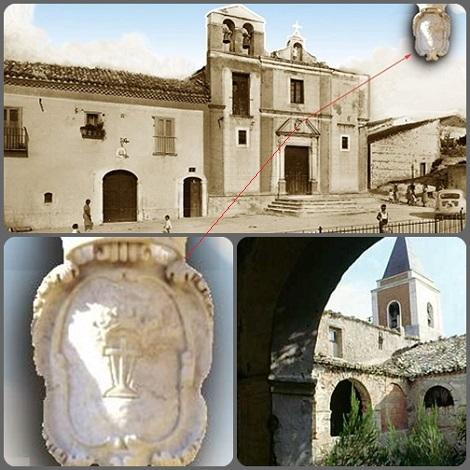 Deliceto - Chiesa e Convento di S. Antonio nel 1963. - Seconda casa dei Redentoristi a Deliceto: