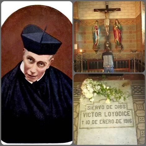 """P. Vittorio Lojodice, redentorista italiano, nativo di Corato in Puglia, nei Paesi di lingua spagnola usava il suo cognome nella forma """"Loyódice"""". Fu un missionario zelante e generoso. La sua tomba è in Montevideo, Uruguay."""