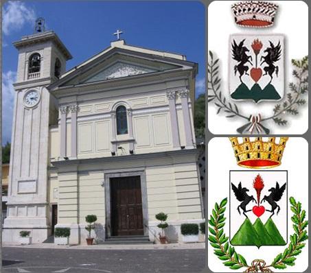 Roccarainola (NA), Santuario di Sant'Agnello Abate e stemma cittadino - Fu la patria di P. Antonio Miele (1777-1833), che aveva un fratello maggiore di nome Michele, anche lui redentorista. Morìa 56 anni, pienamente rassegnato alla volontà di Dio.