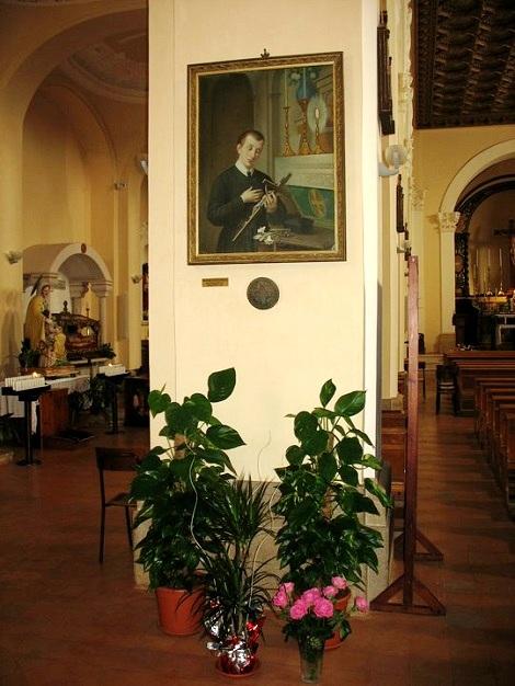 Ruvo del Monte (PZ). Chiesa parrocchiale dove si conserva la memoria del nativo Venerabile Domenico Blasucci. - La chiesa fu ingrandita grazie alla intraprendenza del P. Francesco Saverio Franza che nel 1820 vi predicò una fruttuosa missione.