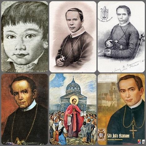 Immagini di San Giovanni N. Neumann.