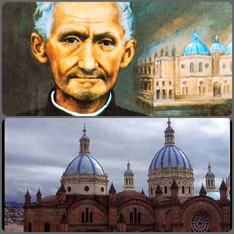 Fratello J.B. Stiehle, tedesco, costruttore della cattedrale di Cuenca (Ecuador).