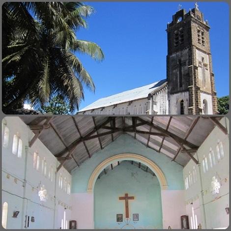 Vohemar (Madagascar), Chiesa dei Missionari Redentoristi: nel 1971 sono stati i redentoristi  napoletani a fondare la Missione nell'isola, che si avvia a diventare Vice-Provincia.