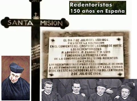 Madrid – Il seme gettato nel 1863 da tre redentoristi italiani: i padri Vittorio Loiodice e Gil Zanoni e il fratello Luigi Zanichelli, ha portato abbondante frutto. Nel 2013 La Provincia redentorista di Madrid ha celebrato i 150 anni della sua storia.