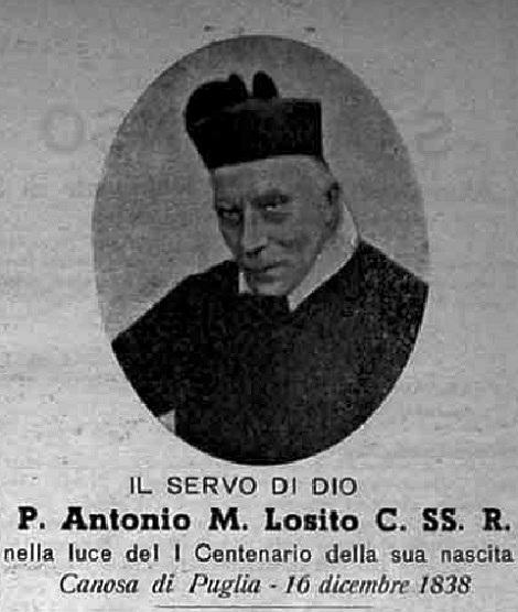 Una delle poche foto dell'Annata 1938 è dedicata al P. Antonio Maria Losito nel Centenario della sua nascita.