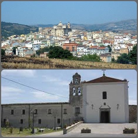 P. Gabriele Baselice (1794-1850) fu un redentorista nativo di Biccari (FG), che la foto presenta con una veduta panoramica di oggi e il Convento dei Frati Minori.