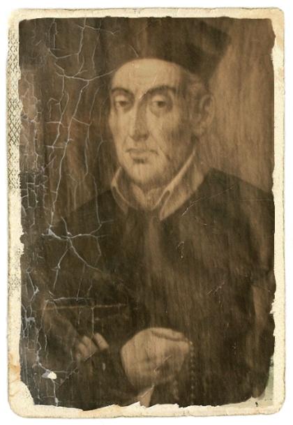 Vecchio ritratto del P. Giuseppe Chiomenti, redentorista nativo di Cerignola in Puglia.