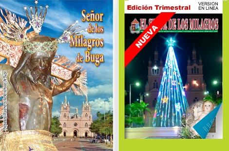 "Colombia - Bollettini della ""Basilica del Señor de los Milagros"". Una presenza redentorista vivace e continua."