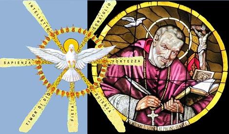 """O Spirito Santo, """"scalda ciò che è gelido"""": liberami dalla mia freddezza e accendi in me un grande desiderio di amarti e compiacerti (S.Alfonso)."""