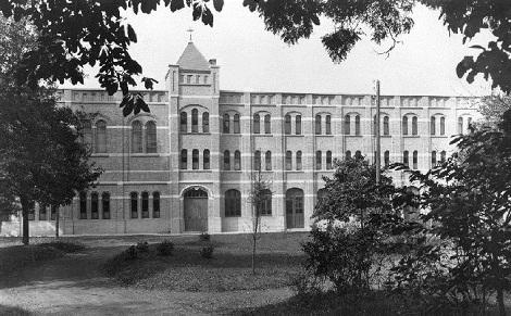 Lille (Francia) - La Casa redentorista dove nel 1890 consumòla sua breve vita il P. Louis Vezole.