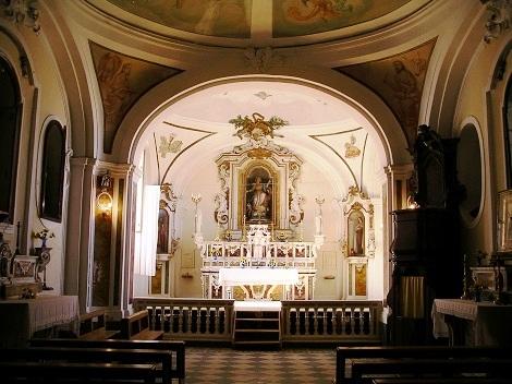 Particolare della chiesa redentorista in S. Angelo a Cupolo (BN), ormai chiusa: in questa gloriosa Casa, la prima fuori del Regno di Napoli, sono cresciute intere generazioni di Redentoristi. Qui morì Fratello Bruno Domenico.