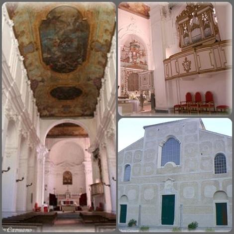 Il duomo di Scala (SA) oggi. S. Alfonso vi predicò una memorabile Novena al Crocifisso, durante la quale ebbe modo di incontrarsi con la Ven. Suor Maria Celeste Crostarosa.