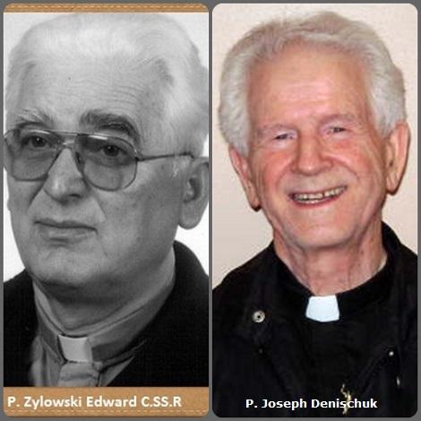 Tra i 32 defunti di oggi 1 maggio, di cui 4 italiani l'immagine mostra due Redentoristi: il polacco P. Edward Żyłowski (1934-2012) e il canadese P. Joseph Denischuk (1921-2013).