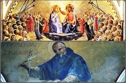 O Madre del mio Dio e mia Signora Maria, come ad una gran regina si presenta un povero misero e piagato, io mi presento a te, che sei la Regina del cielo e della terra. Dall'alto del trono in cui siedi, non disdegnare di volgere i tuoi occhi verso di me, povero peccatore. Amen (S. Alfonso).