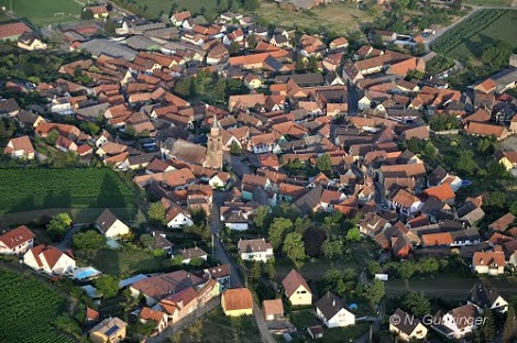 Nordheim, vicino a Strasburgo, in Alsazia, oggi. - In questo villaggio nacque nel 1806 il P. Francesco Giuseppe Ludwig, che,  divenuto redentorista, si trasferì a Pagani (SA), presso la tomba di S. Alfonso, dove morì di tifo nel 1852 (foto da internet).