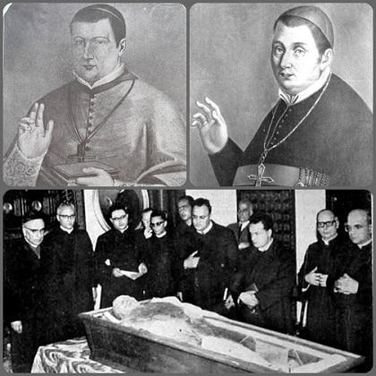 Nel 1964 a Chieti fu effettuata la riesumazione e traslazione dei resti mortali del vescovo redentorista Mons. Giosuè Saggese (1800-1852). Oggi nella diocesi si maniene una viva memoria del suo breve, ma intenso periodo episcopale.
