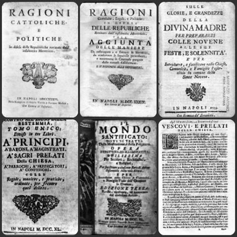 Il nome del redentorista P. Michele Marino, nativo di Atena, vicino Capaccio (SA), è legato alla compilazione delle opere del Beato Gennaro Maria Sarnelli, preparata nel 1805. Il Sarnelli sarà proclamato beato nel 1996.