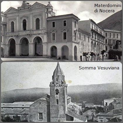 I luoghi del redentorista P. Giovanni Battista Siniscalchi (1810-1852): Materdomini di Nocera, dove nacque, e Somma Vesuviana dove morì; nella chiesa di San Giuseppe vi fu la presenza redentorista dal 1816 al 1898.