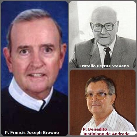 Tra i 26 defunti di oggi 18 giugno, di cui nessuno italiano l'immagine mostra 3 Redentoristi: il fratello olandese Petrus Stevens (1913-2002), l'americano P. Francis Joseph Browne (1942-2009) e il brasiliano P. Benedito Justiniano de Andrade (1932-2012).