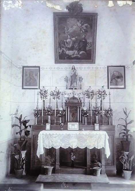 Agrigento. Antica Cappella Interna della Casa Redentorista, dove spirò nel 1858 il P. Carmelo Tropia.