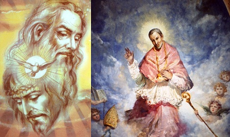 Credo il mistero della ss. Trinità, Padre, Figliuolo e Spirito santo, tre persone, ma un solo Dio (S. Alfonso).