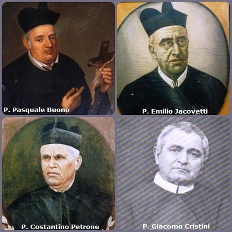 Autori redentoristi di Canzoncine = 5. P. Pasquale Buono (1782-1842) di Morra irpina (AV).- 6. P. Emilio Jacovetti (1834-1918) di Castellone al Volturno (CB). - 7. P. Costantino Petrone (1866-1938) di Montagano (CB), autore di molte poesie e canzoncine. - 8. P. Giacomo Cristini (1853-1928) ha lasciato diversi scritti spirituali alfonsiani e un magnifico Manuale di Devozione in cui ha raccolto le più note Canzoncine redentoriste (di S. Alfonso e dei suoi discepoli).