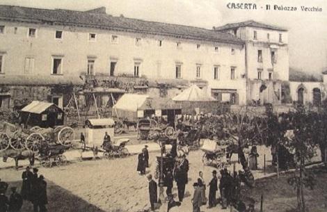 Caserta, Palazzo vecchio. La Casa redentorista era attaccata al Palazzo: nel 1859 vi morì il Fratello Angelo Antonio Ciaramella, originario di Pratola Serra (AV).