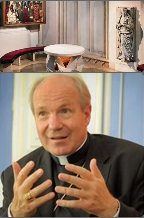 Il cardinale Christoph Schönborn, arcivescovo di Vienna, domenicano, ha preso vivamente parte alle iniziative delle Feste in onore di San Clemente.