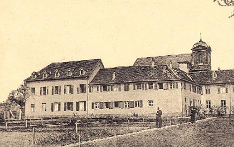 Landser (Francia) - La casa redentorista dove per diversi anni fu superiore il P. Jean-Baptiste Allonas che vi mori nel 1847.