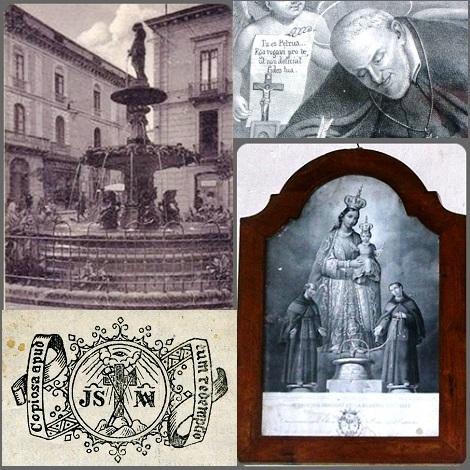 La Madonna del Pozzo, venerata a Capurso in provincia di Baria, fu oggetto di molta devozione nella chiesa di S. Caterina a Catanzaro che oggi non c'è più: rimane la piazzetta con la fontana. La devozione fu promossa dal P. Michele Perretta che sperimento sulla sua persona la benevolenza della Madre di Dio.
