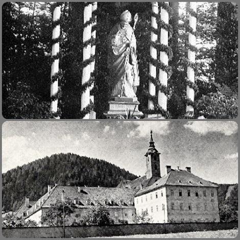Mautern (Austria) Il complesso redentorista dove visse e operò per alcuni anni il Servo di Dio P. François Tendler che morì poi a Vienna nel 1902.